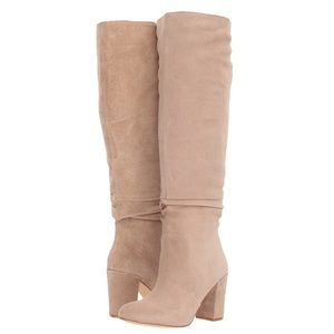 New Steve Madden Sagan Suede Slouchy Boots